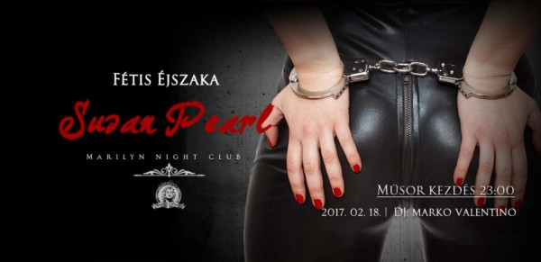 Marilyn Night Club Fétis Éjszaka Susan Pearl