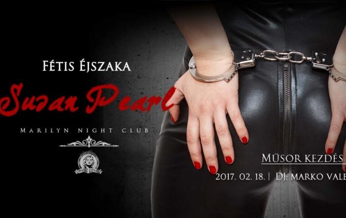 Marilyn Night Club Fétis Éjszaka Susan Pearl