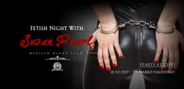 Marilyn Night Club Fetish night Susan Pearl