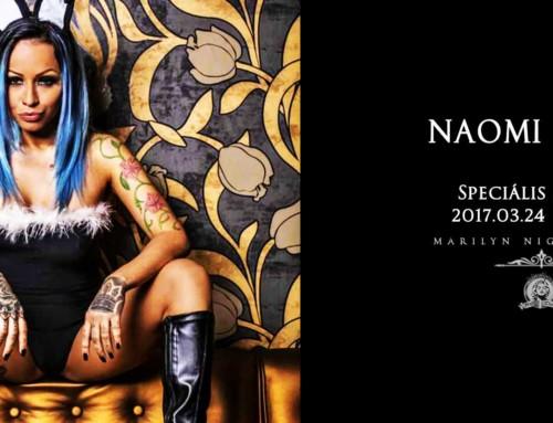 Naomi Cole Guinness-rekord csúcstartó műsora 2017. Március. 24.