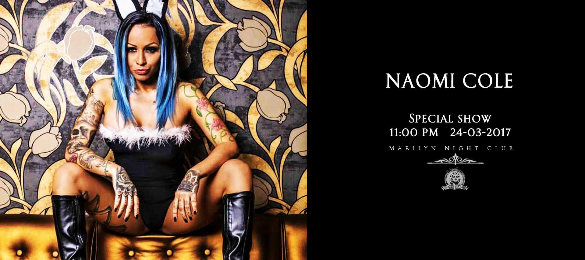 Naomi Cole Marilyn Night Club 24 03 2017