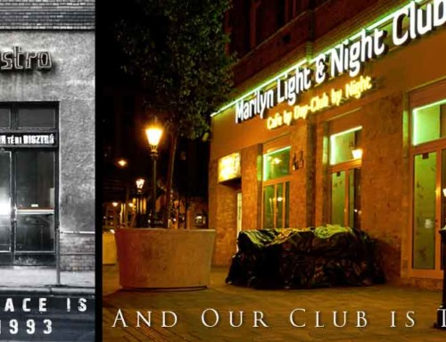 Boldog szülinapot Marilyn Night Club!
